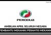 PERODUA (Perusahaan Otomobil Kedua Sendirian Berhad)