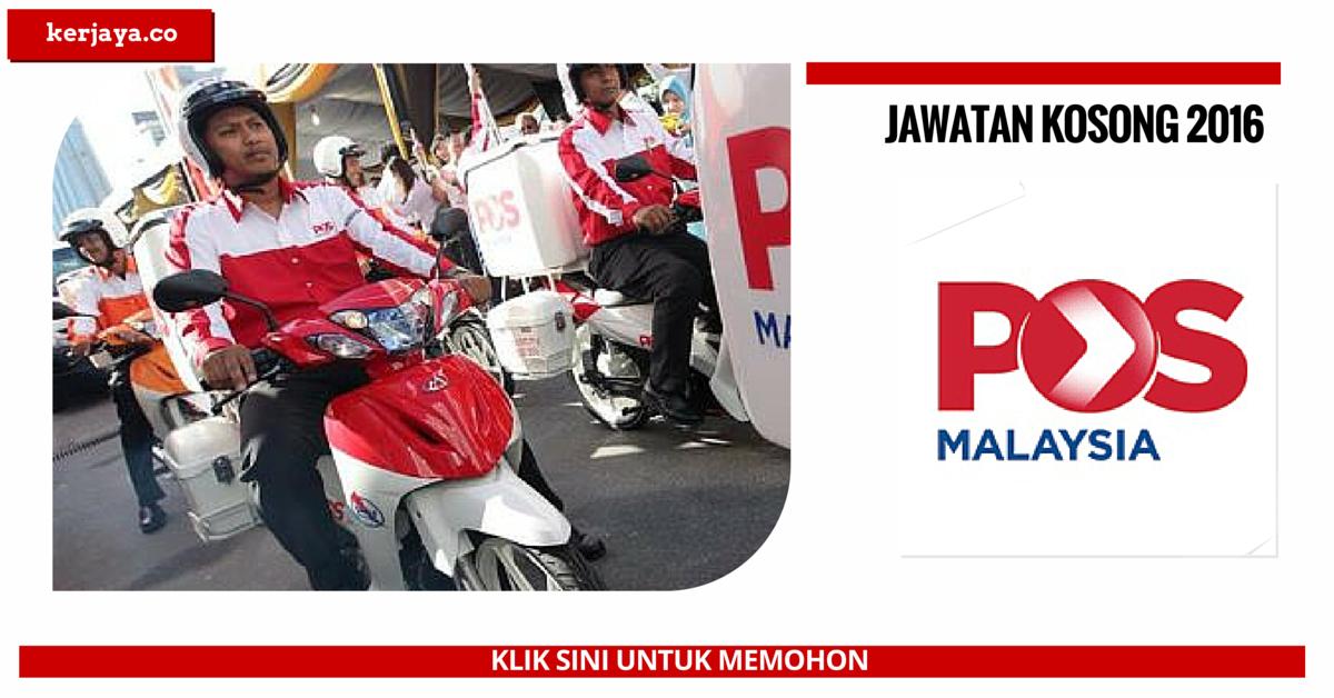 Bagaimana Mohon Kerja Posmen POS Malaysia Kelantan