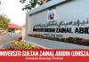 Jawatan Kosong Terkini Universiti Sultan Zainal Abidin (UniSZA)