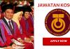 Jawatan Kosong Universiti Teknologi Malaysia (UTM) (1)