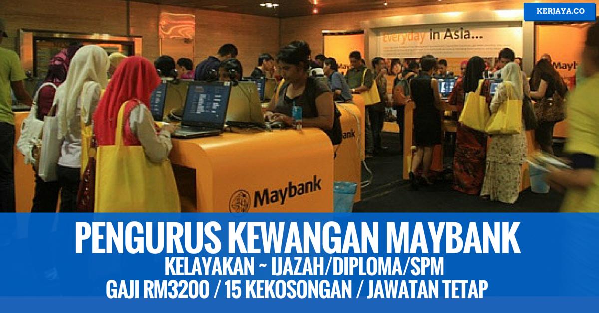 Permohonan Kerja Kerani & Eksekutif Maybank