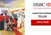 TELLER HSBC BANK KERJA KOSONG