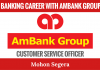 BANKING CAREER WITH AmBank Group