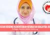 JAWATAN KOSONG KEMENTERIAN KESIHATAN MALAYSIA (KKM) (1)