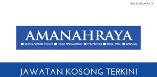 JAWATAN KOSONG AMANAH RAYA BERHAD (1)