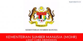 Kementerian Sumber Manusia (MOHR)