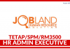 HR Admin Executive di Jobland Human Resource Solution