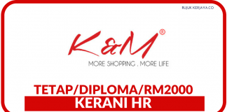 Kerani HR di K&M