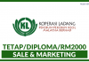 Koperasi Ladang Pekebun-Pekebun Kecil Malaysia Berhad - Sale & Marketing