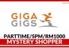Mystery Shopper di GigaGigs (Part Time)
