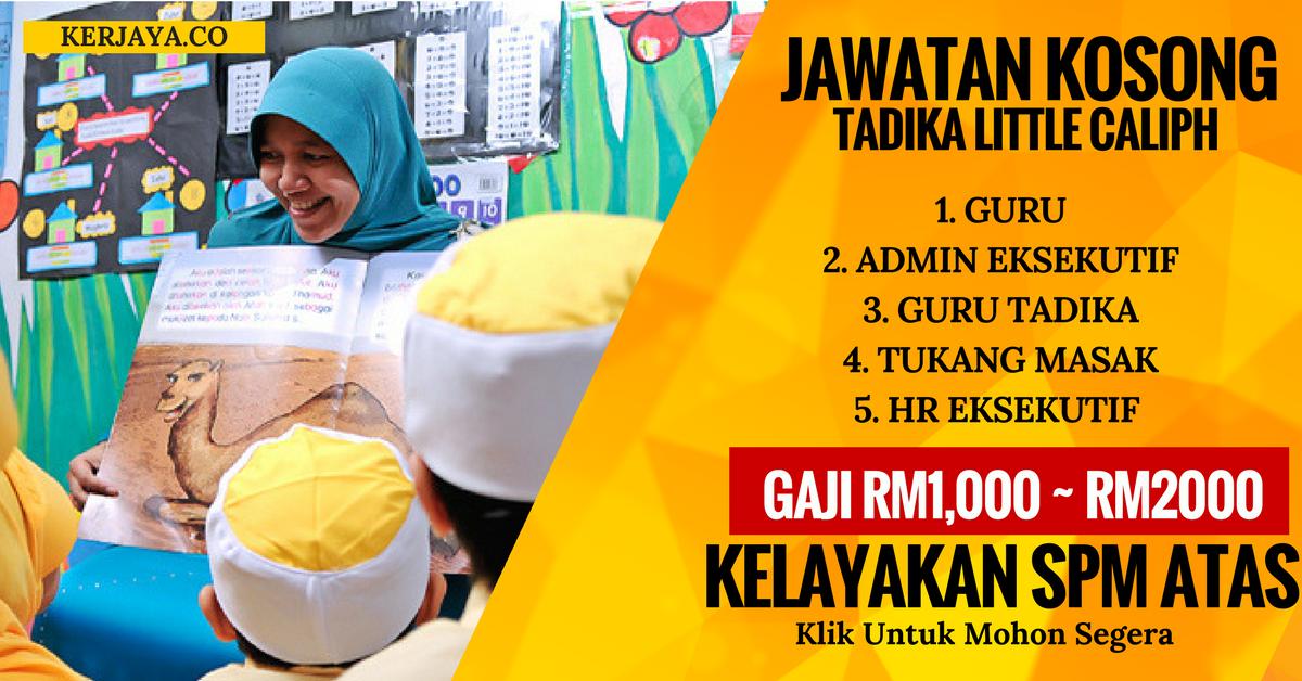 Jawatan Kosong Guru Tadika Sarawak Jawkosa