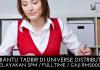 Pembantu Tadbir di Universe Distribution