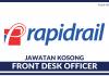 Rapid Rail Front Desk Officer