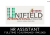Unifield International College ~ Kekosongan HR Assistant