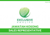 Sales Representative di Exclusive Khalifa
