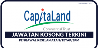 Pengawal Keselamatan di CapitaLand