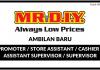 Mr. DIY ~ Kekosongan Promoter / Store Assistant / Cashier / Assistant Supervisor / Supervisor