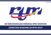 RTM (Jabatan Penyiaran Malaysia) ~ 40 Kekosongan Ambilan 2017 (Kelayakan SPM)