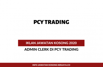 PCY Trading ~ Admin Clerk