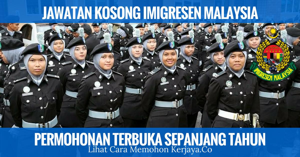 JAWATAN KOSONG IMIGRESEN MALAYSIA