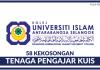 58 Kekosongan Tenaga Pengajar Kolej Universiti Islam Antarabangsa Selangor (KUIS)