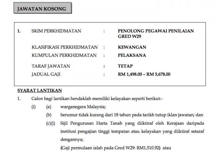 Iklan Jawatan Majlis Perbandaran Johor Bahru Tengah (MPJBT)