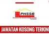 Jawatan Kosong Perumahan dan Hartanah Selangor (PHSSB)