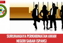 Jawatan Kosong Suruhanjaya Perkhidmatan Awam Negeri Sabah (SPANS) (1)