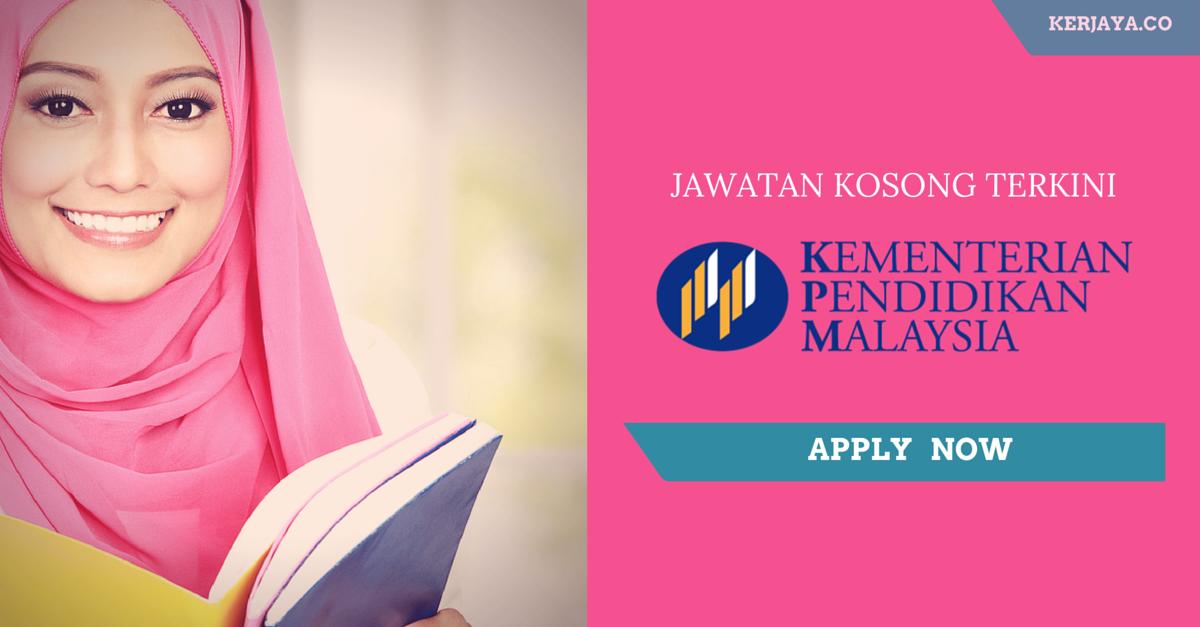 Jawatan Kosong Kementerian Pendidikan Malaysia Jawatan Kosong Kerjaya.Co