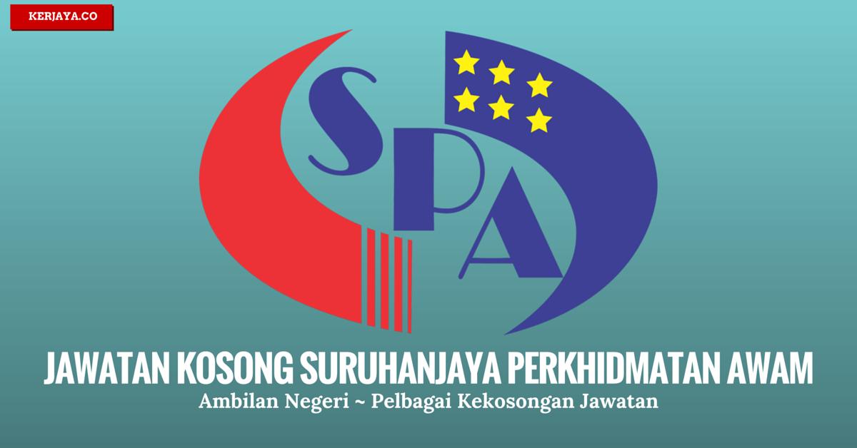 Jawatan Kosong Terkini Suruhanjaya Perkhidmatan Awam Negeri Kedah Spa Kedah Kerja Kosong Kerajaan Swasta