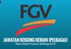 Jawatan Kosong Terkini Felda Global Ventures Holdings (FGV)