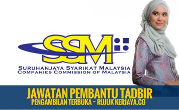 Pembantu Tadbir SSM