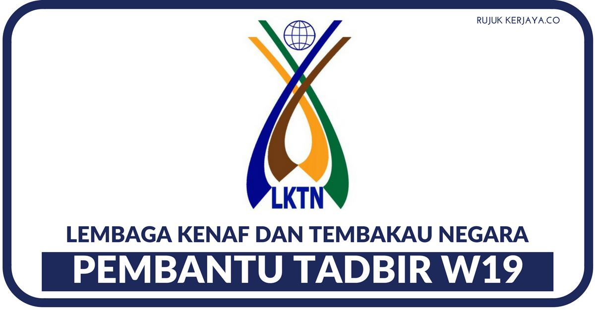 Lembaga Kenaf Dan Tembakau Negara Lktn Kerja Kosong Kerajaan