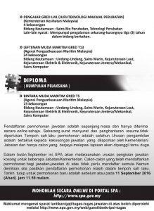 Iklan Kerja Kosong Suruhanjaya Perkhidmatan Awam Malaysia (SPA Malaysia)