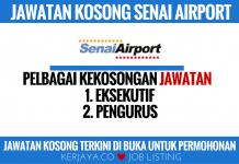 Jawatan Kosong Senai Airport