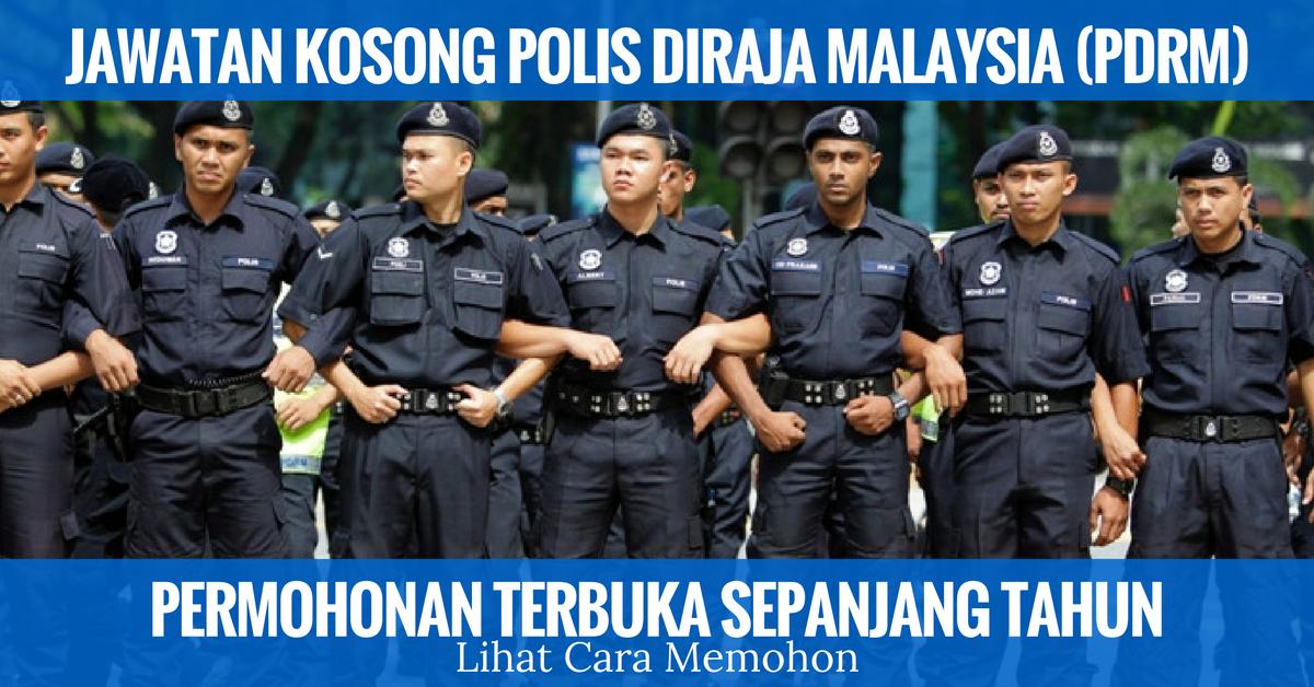 Jawatan Kosong Terkini Polis Diraja Malaysia Pdrm Kerja Kosong Kerajaan