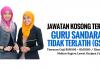 Jawatan Kosong Guru Sandaran Tidak Terlatih (GSTT)