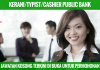 KERANI/TYPIST/CASHIER PUBLIC BANK