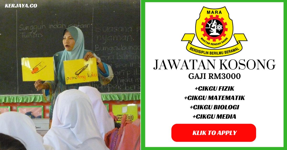 Iklan Guru MRSM