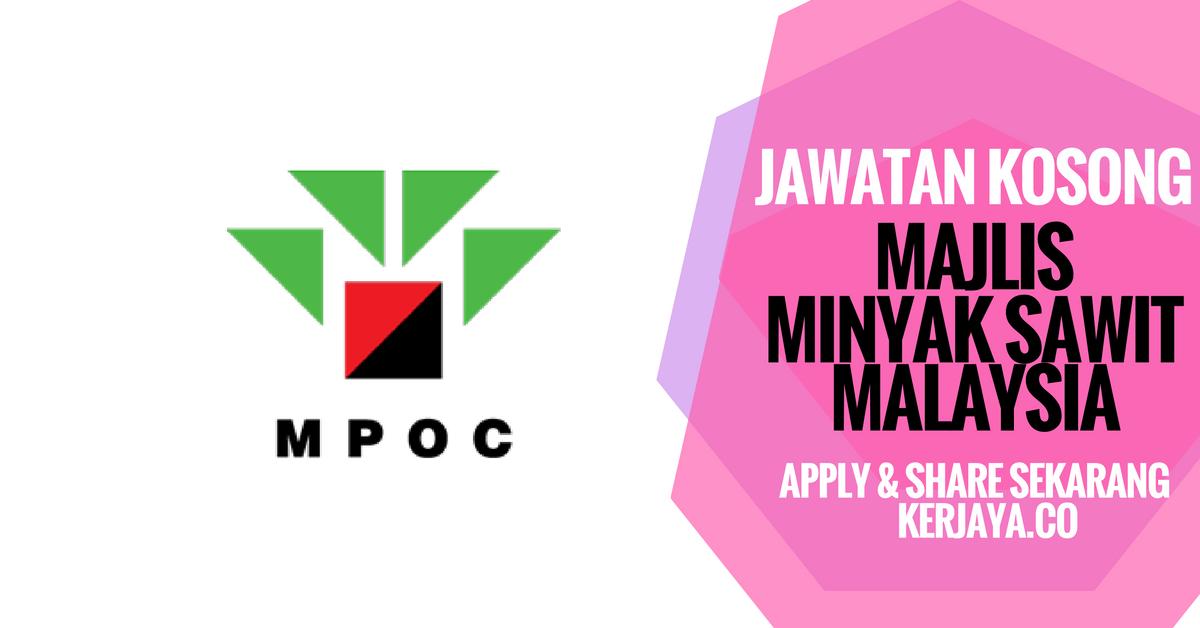 Majlis Minyak Sawit Malaysia (MPOC)