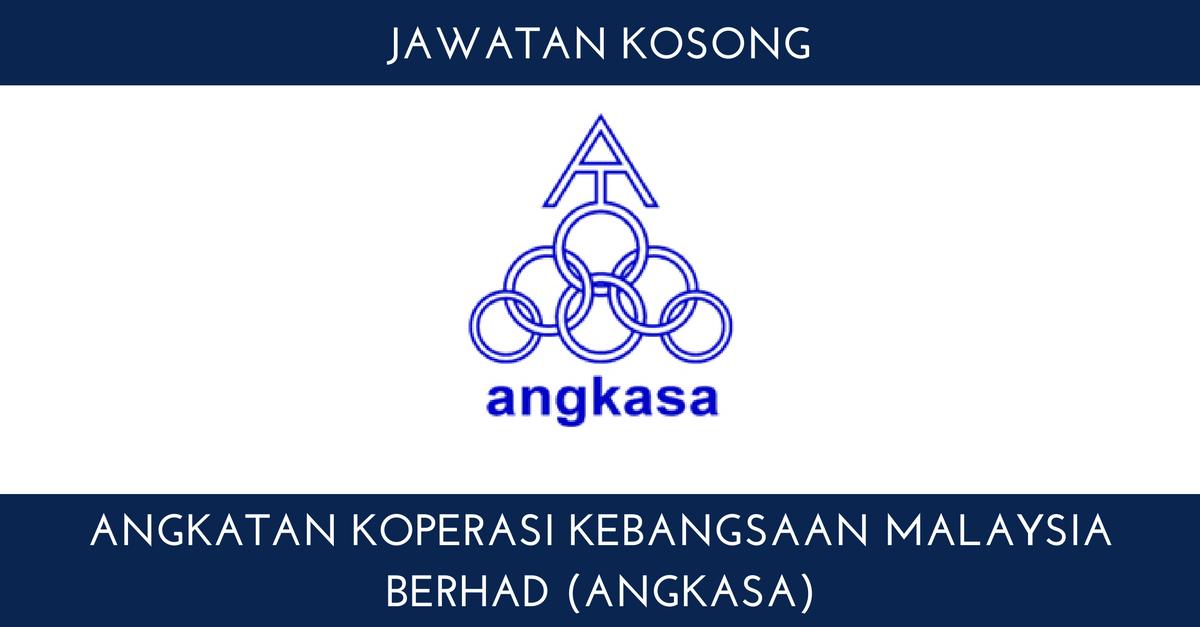 Angkatan Koperasi Kebangsaan Malaysia Berhad Angkasa 1 Kerja Kosong Kerajaan