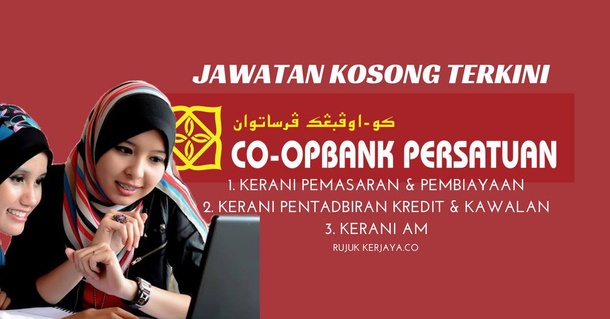 Kerani Koperasi Bank Persatuan Malaysia Berhad