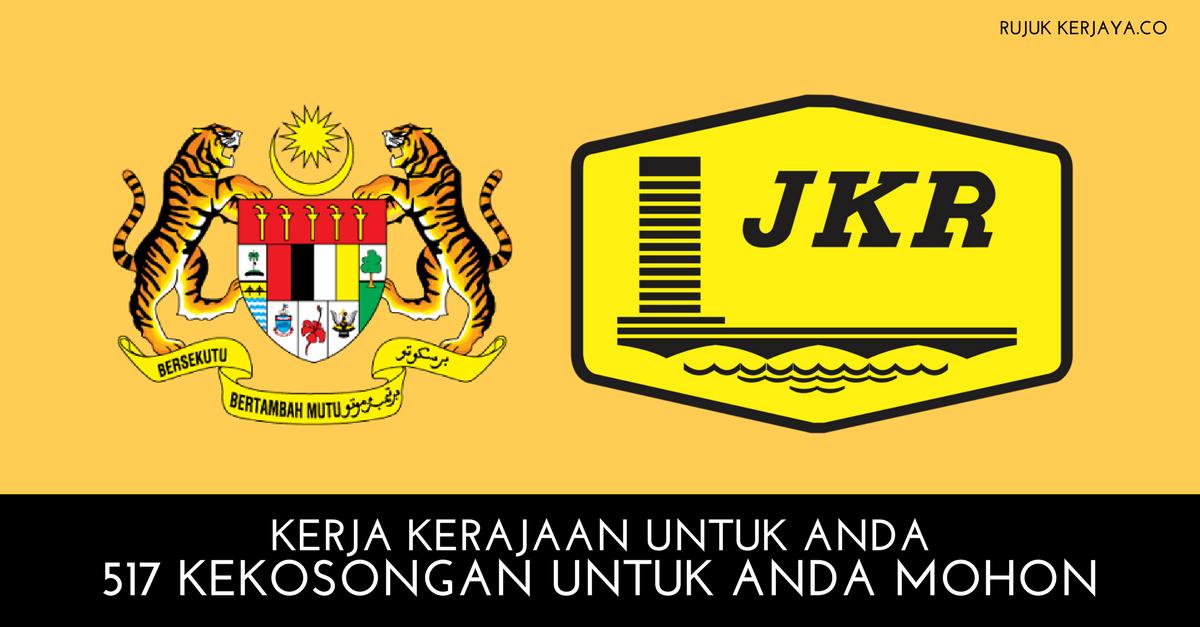 500+ Kekosongan Kementerian Kerja Raya Malaysia