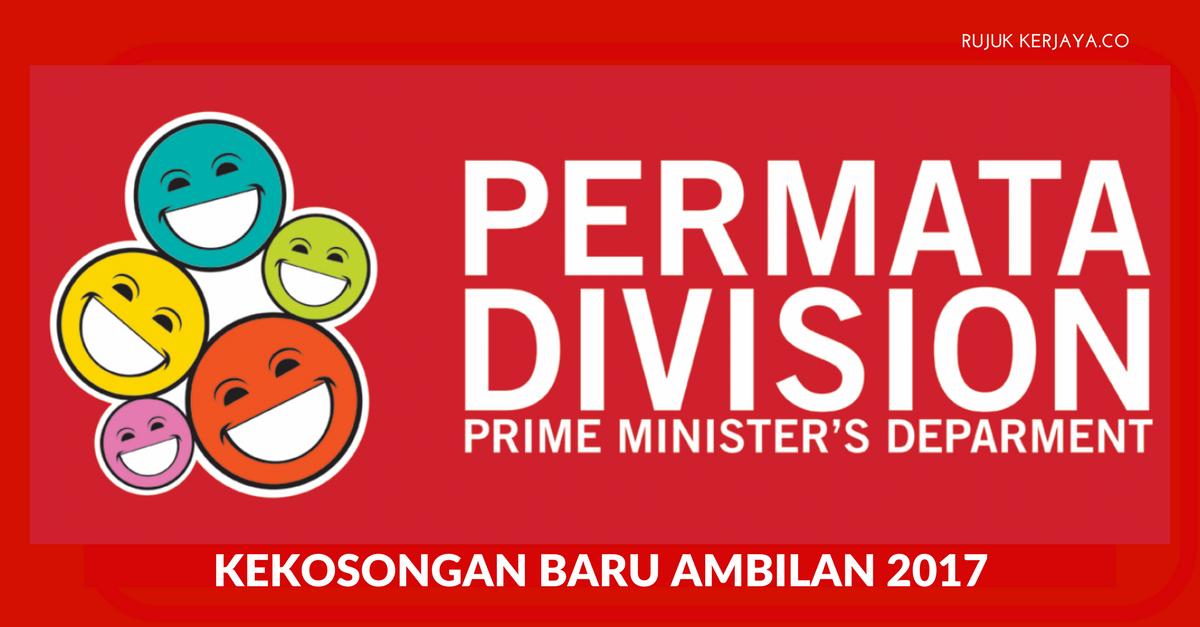 Jabatan Perdana Menteri (JPM) Bahagian PERMATA Negara