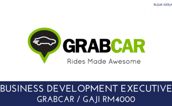 Business Development Executive GrabCar
