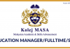 Kolej MASA ~ Education Manager