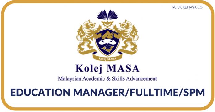 Kolej MASA ~ Education Manager