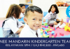 Trainee Mandarin Kindergarten Teacher - Tadika Dunia Cahaya