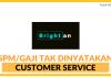 Customer Service di Brightan System (Internship)