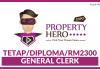 General Clerk di Property Hero